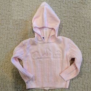 Carriage Boutiques baby girl pink pullover sweater